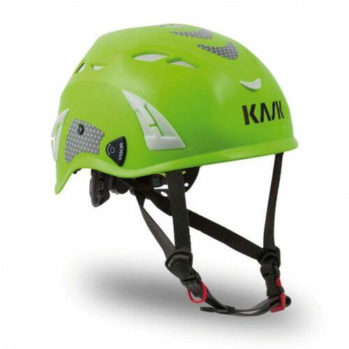 Kask Superplasma HD Ventilated Hard Hat, Hi Viz, Lime Fluo