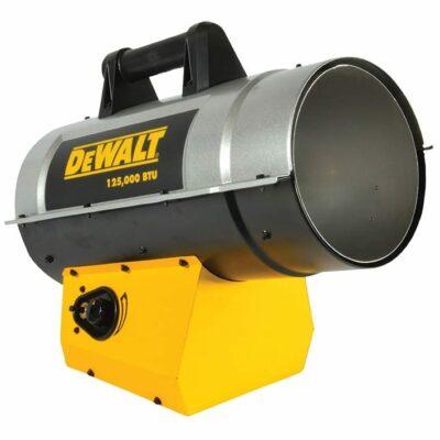 DeWALT DXH125FAV 125,000 BTU/HR Forced Air Propane Heater