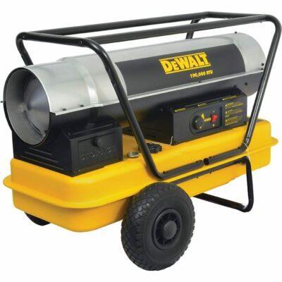 DeWALT DXH190HD 190,000 BTU/HR Forced Air Kerosene Construction Heater
