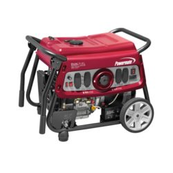 Powermate DF7500E 7,500 Watt Electric Start Dual Fuel Portable Generator