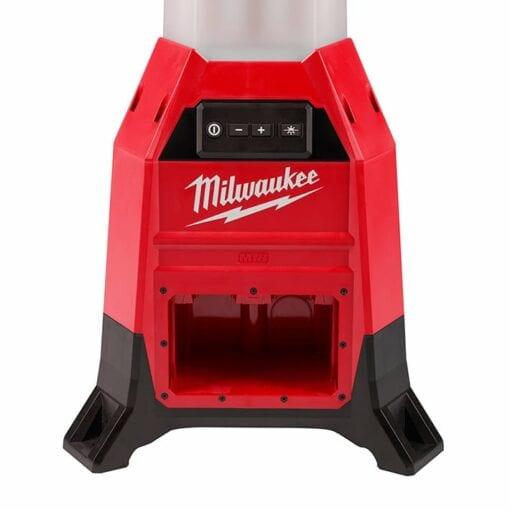 Milwaukee 2151-20 M18™ RADIUS™ Site Light (closeup battery port view)