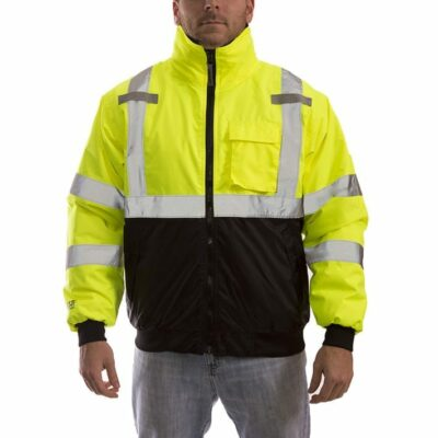 Tingley J26002 High Vis Insulated Bomber Jacket, Yellow-Green/Black