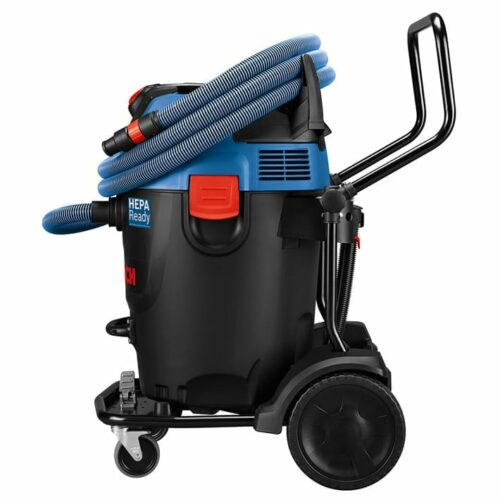 Bosch GAS20-17AH 17-Gallon 300-CFM Dust Extractor Vac (side view)