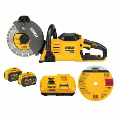 DeWALT DCS690X2 FLEXVOLT® 60V Max* Cordless Brushless 9 In. Cut-Off Saw Kit