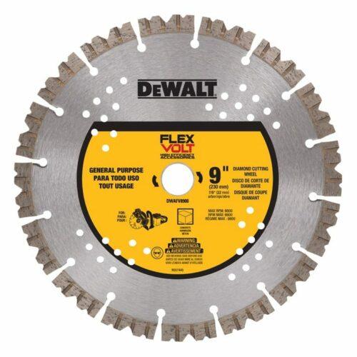 "DeWALT DWAFV8900 FLEXVOLT® 9"" Diamond Cutting Wheel"