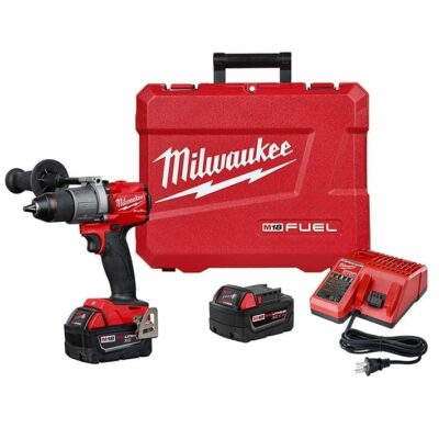 "Milwaukee 2804-22 M18 FUEL™ 1/2"" Hammer Drill/Driver Kit"
