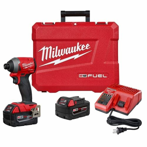 "Milwaukee 2853-22 M18 FUEL™ 1/4"" Hex Impact Driver Kit"