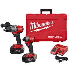 Milwaukee 2997-22 M18 FUEL™ Hammer Drill & Impact Driver Combo Kit