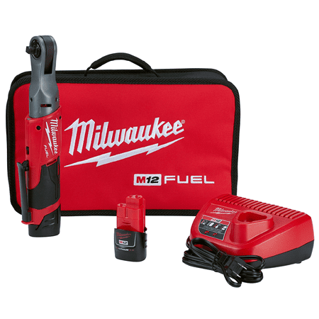 Milwaukee 2557-22 M12 FUEL 3/8 Ratchet Kit