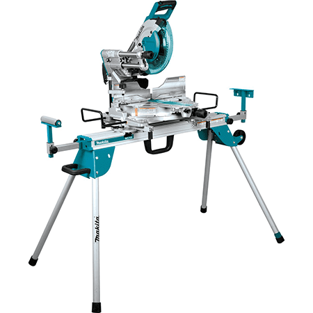Makita LS1019LX 10 Dual-Bevel Sliding Compound Miter Saw with Laser and Stand