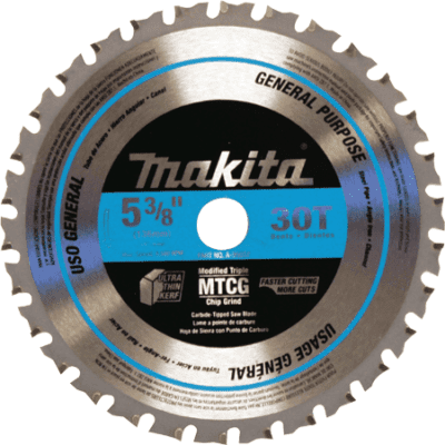 Makita A-95037 5-3/8 x 30T Carbide-Tipped Saw Blade (Metal / General Purpose)