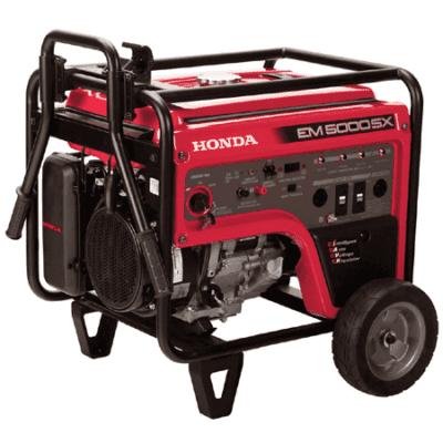 Honda EM5000S 5,000 Watt Generator | EM5000SXK3-655750