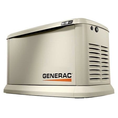 Generac 7041 Synergy 20kW (LP) / 18kW (NG) Air-Cooled Standby Generator with 200A Non-SE CUL Transfer Switch & Wi-F