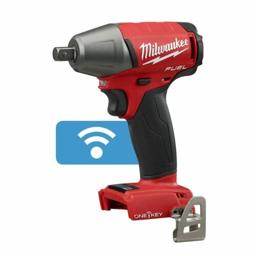 Milwaukee 2759-20 M18 FUEL18V Cordless 1/2 Compact Impact Wrench w/ Pin Detent - ONE-KEY (Tool Only)