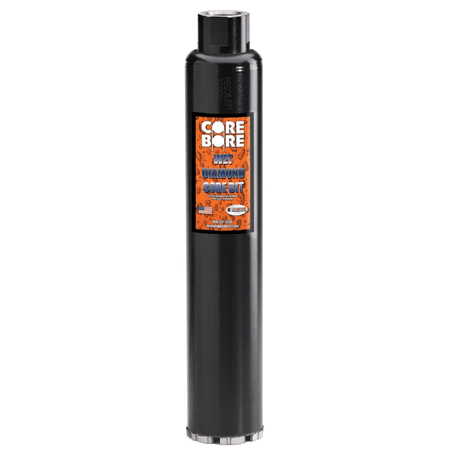 "Diamond Products 05338 1-1/8"" Premium Black Wet Core Bit (POL)"