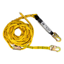 Guardian 01320 Poly Steel Rope Vertical Lifeline Assembly, 50 Ft.