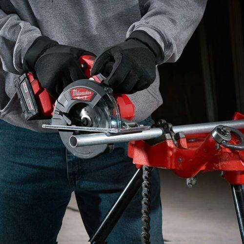 Milwaukee 2782-20 M18 FUEL™ Metal Cutting Circular Saw (Action View)