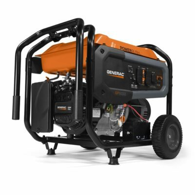 Generac 7686 GP8000E 8,000-Watt Electric Start Portable Generator 49-State/CSA