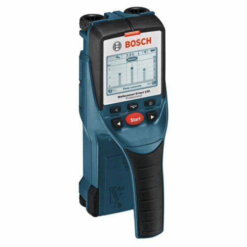 Bosch D-TECT 150 Wall/Floor Scanner with Ultra Wide Band Radar Technology