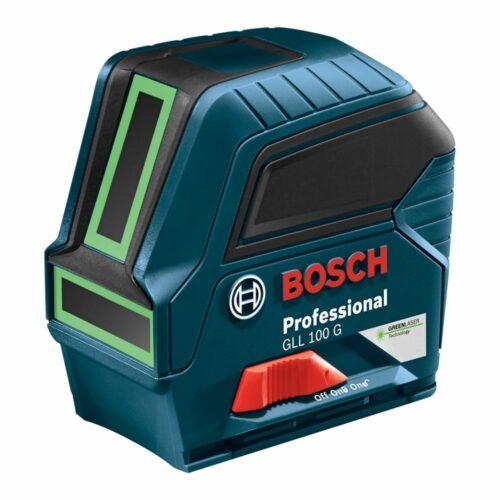 Bosch GLL 100 G Green-Beam Self-Leveling Cross-Line Laser