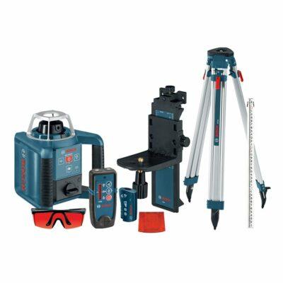 Bosch GRL300HVCK Self-Leveling Rotary Laser Complete Kit