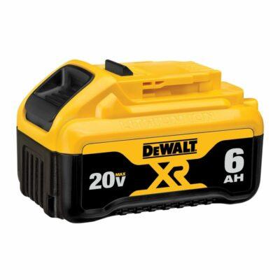 DeWALT DCB206 20V MAX Lithium Ion Battery Pack, Premium XR, 6.0 Ah