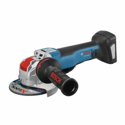 Bosch GWX18V-50PCN 18V X-LOCK EC Brushless Connected-Ready 4-1/2 In. – 5 In. Angle Grinder