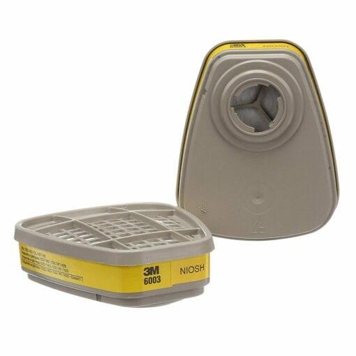 3M™ 6003 Organic Vapor/Acid Gas Cartridge, 1 Pair