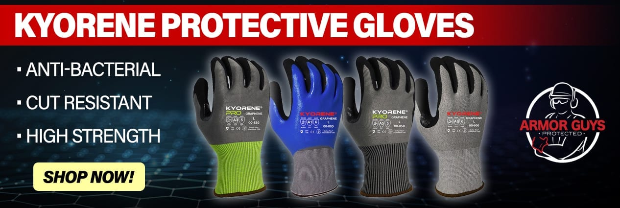 Armor Guys Kyorene Protective Gloves home page slider