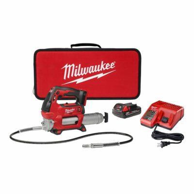 Milwaukee 2646-21CT M18™ Cordless 2-Speed Grease Gun Kit