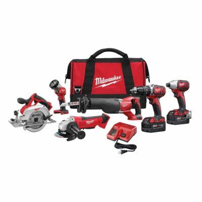 Milwaukee 2696-26 M18™ Cordless 6-Tool Combo Kit