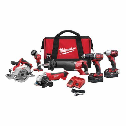 Milwaukee 2696-26 M18™ Cordless 6-Tool Combo Kit