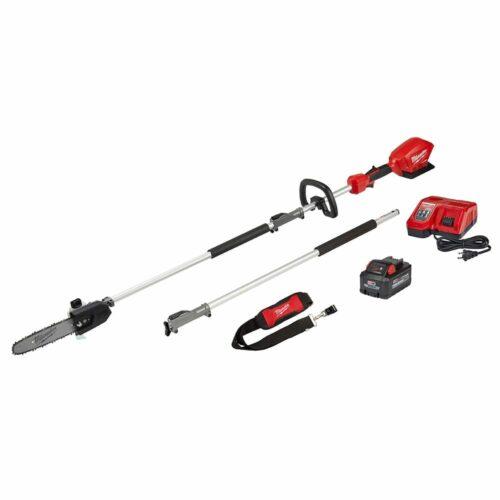 """Milwaukee 2825-21PS M18 FUEL™ 10"""" Pole Saw Kit w/ QUIK-LOK™ Attachment Capability"""