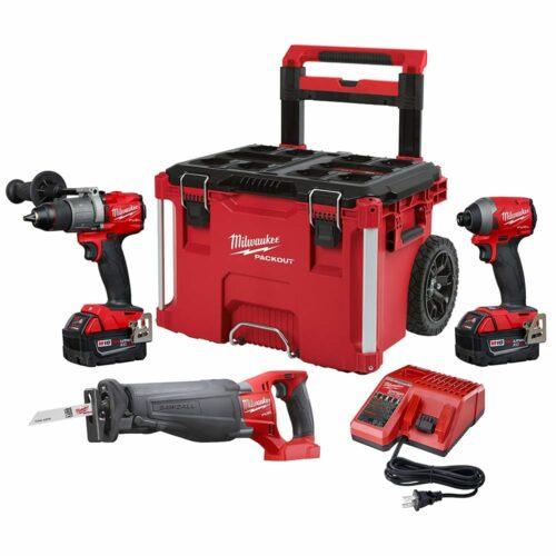 Milwaukee 2997-23SPO M18 FUEL 3-Tool Combo Kit w/ Packout
