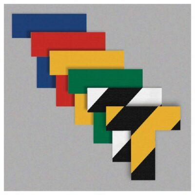 "T-Markers, 2"" Wide Stems, Heavy-Duty Pressure Sensitive Vinyl, 25-Pack"