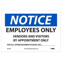 Notice – Employees Only Call Sign