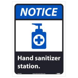 Notice – Hand Sanitizer Station Sign, 14